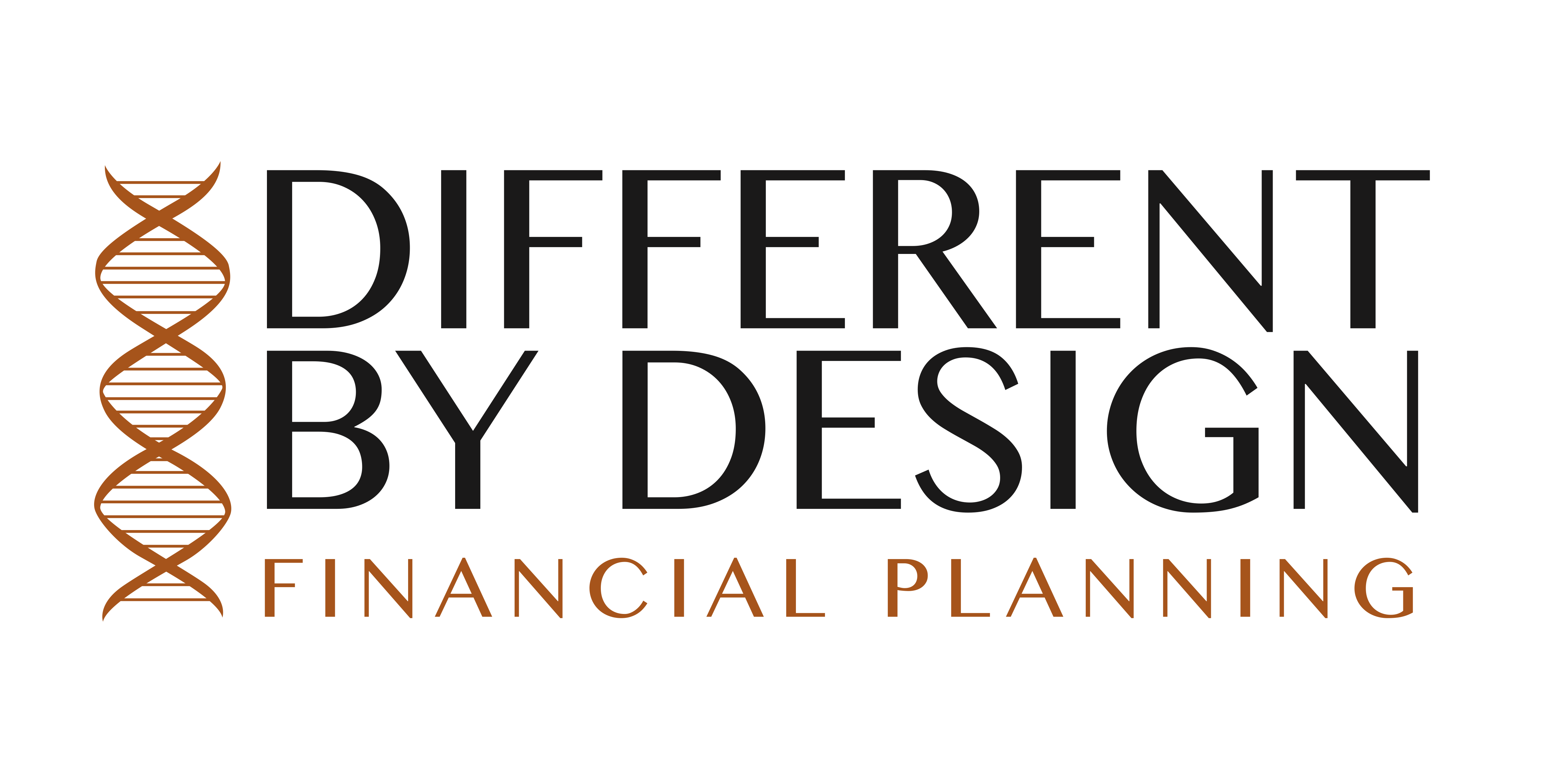 Different By Design Financial Planning Logo Design